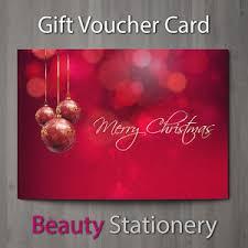 salon gift cards christmas gift voucher blank beauty salon card coupon