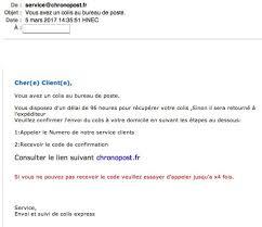 numero bureau de poste service chronopost fr chronopost other scam