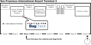 check in bag united easycheck in boarding documents