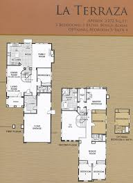 Ranch Floor Plans Schaefer Ranch Floor Plans Dublin Ca