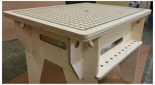 vacuum hold down table