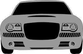 cartoon car png clipart grey car