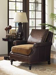 Fabric Chairs Living Room Living Room Furniture Mixing Leather And Fabric Colorado Style