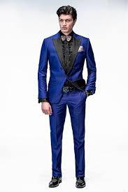 Wedding Dress Man The Bride U0027s New Design Peak Lapel Blue Society Man Wedding Dress