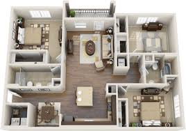 luxury apartment plans three bedroom apartment layout home intercine