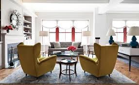 livingroom chair yellow accent chair living room eclectic with yellow armchair