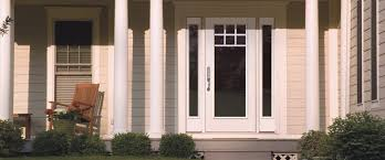 Patio Door With Vented Sidelites by Entry Doors Traditions Therma Tru