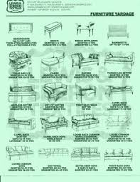 Upholstery Classes In Atlanta Upholstery Yardage Chart Gif 500 650 Useful For Recovering Couch