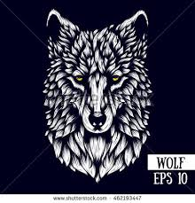 wolf face coloring page wolf stock images royalty free images u0026 vectors shutterstock