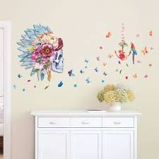 Home Decoration Stickers by Online Get Cheap Children Stickers Flowers Aliexpress Com