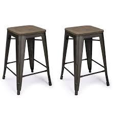 bar stools cymax counter stools rustic leather bar stools