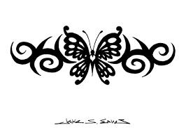 tribal butterfly designs tribal butterfly by muddygreen