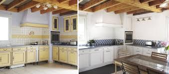 moderniser une cuisine en bois moderniser une cuisine provençale crédence imitation carreaux de