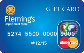 fleming s gift card flemings store card flemings department store monaghan