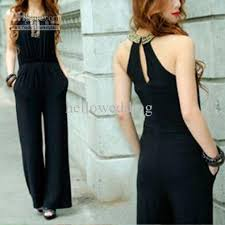 jumpsuits on sale wholesale sale slim noble black jumpsuits with beaded