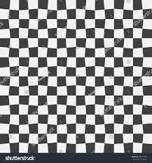 Black And White Checkered Unequal Checks Abstract Checkered Background Vector Stock Vector