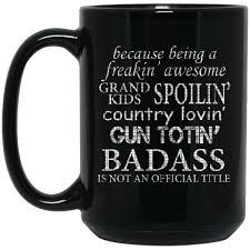 s day mug s day mug badass is not an official title coffee mug tea