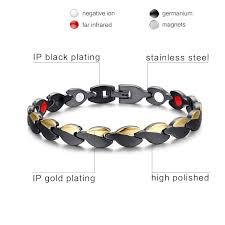 germanium energy bracelet images Bio energy healing magnetic therapy bracelet for ladies buy now jpg