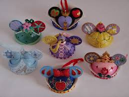 disney princess and villain ear hat ornament collection flickr