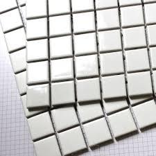 square white ceramic mosaic tiles kitchen backsplash wall bathroom