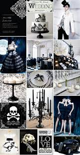 halloween pi halloween wedding party inspiration gothic glamour the brass