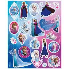 disney frozen character sticker sheets 4 birthdayexpress