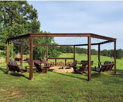 Swing Pergola by 32 Octagon Fire Pit Swing Swing Fire Pit Optimal Solution Swing