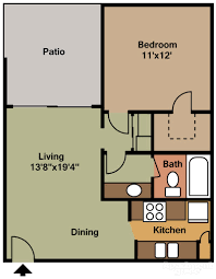100 600 sq ft apartment floor plan 2 well rounded home
