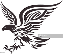 philippines eagle tattoo tribal eagle vector art getty images
