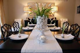 dining table decoration dining room table decor neutralduo