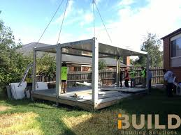 modular homes melbourne project case ibuild kit homes granny