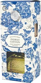 michel design works home fragrance design works indigo cotton home diffuser from elizabeth s