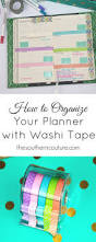 Washi Tape What Is It How To Organize Your Planner With Washi Tape Southern Couture