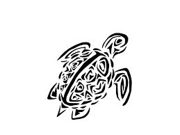 Mexican Flag Stencil Sea Turtle Outline 3322