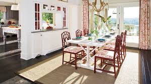 How To Decorate A Dining Room Table Stylish Dining Room Decorating Ideas Southern Living