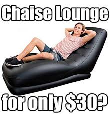 Inflatable Chair And Ottoman by Problems Solved W Intex Inflatable Chaise Lounge