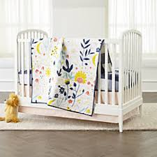 Floral Crib Bedding Sets Genevieve Gorder Floral Crib Bedding Crate And Barrel