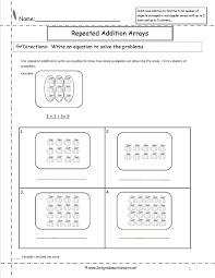 Double Facts Worksheets Multiplication Using Arrays Worksheets Multiplication Worksheets