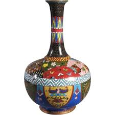 Antique Cloisonne Vases Antique Japanese Cloisonne Vase From Thesteffencollection On Ruby Lane