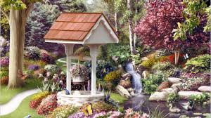 beautiful gardens desktop walldevil