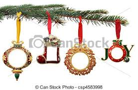 pictures of painted ornaments hanging on a tree