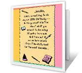 13th birthday greeting card milestone birthday printable card