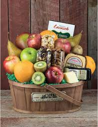 fruit and cheese gift baskets fruit cheese nuts basket farm fresh fruit gourmet cheese