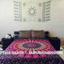 pink tapestry pink mandala tapestry pink elephant tapestry