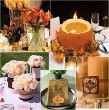 Fall Wedding Centerpieces Fall Wedding Centerpieces With Pumpkincherry Marry Cherry Marry