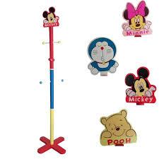 4 cartoon mickey pooh minnie doraemon design 130cm kid coat hanger