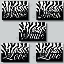 wall ideas zebra print wall decor for bathroom zebra print room