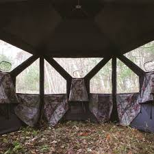 go big with barronett blinds pentagon 5 sided hunting blind in
