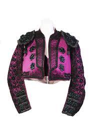 matador costume for sale aubergine and black bullfighting costume