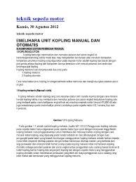 100 nama nama komponen transmisi manual blogger bhem